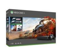 Microsoft Xbox One X 1TB + Forza Horizon 4 + Forza Motorsport 7 ( CYV 00057 CYV 00057 CYV 00056 CYV 00057 T MLX26800 ) spēļu konsole