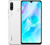 Huawei P30 Lite Dual 128GB pearl white (MAR-LX1A) Array ( 51093NPR 3613 51093NPR 6901443285648 P30 Lite Dual Pearl white P30liteB ) Mobilais Telefons