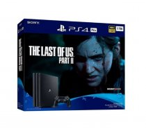 Sony Playstation 4 Pro 1TB PS4 Black + The Last Of Us 2 ( 711719379300 PS4 LAST OF US 2 T MLX42880 ) spēļu konsole