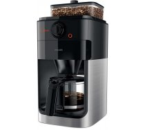 Philips Grind  Brew Coffee maker HD7767/00 With glass jug Integrated coffee grinder Black  metal With timer ( HD7767/00 8056 HD7767/00 ) Kafijas automāts