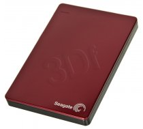 SEAGATE Backup Plus Portable 2.5'' 2TB USB 3.0  Red ( STDR2000203 STDR2000203 STDR2000203 ) Ārējais cietais disks