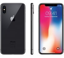 Apple iPhone X 64GB space grey MQAJ2 UK Openbox ( MQAJ2 Openbox iPhone X 64GB space grey ) Mobilais Telefons
