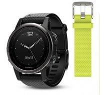 Garmin fenix 5S Saphir black with black Armband 42mm ( 010 01685 11 010 01685 11 010 01685 11 ) Viedais pulkstenis  smartwatch