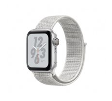 Apple Watch Nike+ Series 4 GPS 40mm Silver Alu Nike Loop ( MU7F2FD/A MU7F2FD/A MU7F2 MU7F2FD/A MU7F2GK/A MU7F2UA/A MU7F2WB/A ) Viedais pulkstenis  smartwatch