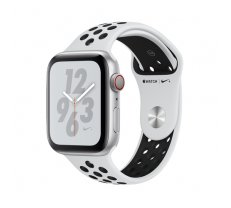Apple Watch Nike+ Series 4 GPS Cell 44mm Silver Alu Nike Band ( MTXK2FD/A MTXK2FD/A MTXK2FD/A MTXK2WB/A ) Viedais pulkstenis  smartwatch