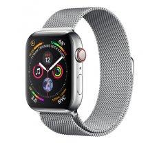 Apple Watch Series 4 GPS Cell 44mm Steel Milanese Loop ( MTX12FD/A MTX12FD/A MTX12FD/A MTX12WB/A ) Viedais pulkstenis  smartwatch