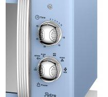 Microwave oven 20l Retro Manual blue ( SM22130BLN SM22130BLN ) Mikroviļņu krāsns