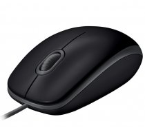 Logitech B110 Silent BLACK - EMEA - USB ( 910 005508 910 005508 ) Datora pele