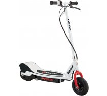 Razor 8   E200  Electric Scooter  200 W  19 km/h  24 month(s)  White/Red 0845423019655 ( 13173810 13173810 13173810 ) Skrejriteņi