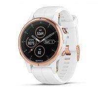 Garmin fenix 5S Plus Sapphire White/Rose Gold ( 010 01987 07 010 01987 07 010 01987 07 ) Viedais pulkstenis  smartwatch