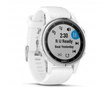 Garmin fenix 5S Plus Sapphire White/White ( 010 01987 01 010 01987 01 ) Viedais pulkstenis  smartwatch