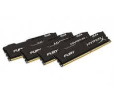 Kingston HyperX FURY 4x8GB 2400MHz DDR4 CL15 DIMM  black ( HX424C15FB2K4/32 HX424C15FB2K4/32 HX424C15FB2K4/32 ) operatīvā atmiņa