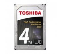 Toshiba X300  3.5''  4TB  SATA/600  7200RPM  128MB cache ( HDWE140UZSVA HDWE140UZSVA HDWE140UZSVA ) cietais disks