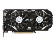 MSI GeForce GTX1050 TI 4GT OC 4GB GDDR5 PCIE GTX1050TI4GTOC GEFORCE GTX 1050 TI 4GT OC