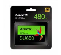 SSD Ultimate SU650 480G 2.5 S3 3D TLC Retail ASU650SS-480GT-R