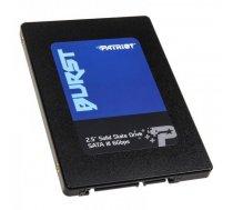 Patriot SSD Burst 480GB 2.5'' SATA III read/write 560/540 MBps, 3D NAND Flash PBU480GS25SSDR