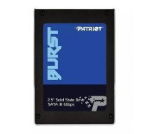 Patriot SSD Burst 960GB 2.5'' SATA3 6GB/s read/write 560/540 MBps, 3D NAND Flash PBU960GS25SSDR