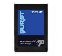 Patriot SSD Burst 960GB 2.5'' SATA3 6GB/s read/write 560/540 MBps, 3D NAND Flash PBU960GS25SSDR
