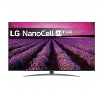 "LG 49SM8200PLA TV 124.5 cm (49"") 4K Ultra HD Smart TV Wi-Fi Black,Silver 49SM8200"