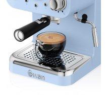 Coffee machine espresso Swan Espresso Coffee Machine SK22110BLN (1100W; blue color) SK22110BLN