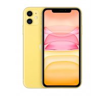 "Apple iPhone 11 15.5 cm (6.1"") 64 GB Dual SIM Yellow MWLW2CN/A"