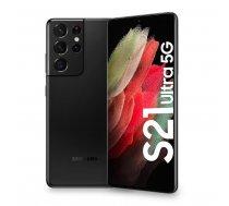 "Samsung Galaxy S21 Ultra 5G SM-G998B 17.3 cm (6.8"") Dual SIM Android 11 USB Type-C 12 GB 128 GB 5000 mAh Black SM-G998BZKDEUE"