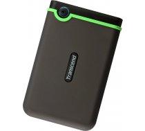 External HDD | TRANSCEND | StoreJet | 1TB | USB 3.0 | Colour Green | TS1TSJ25M3S TS1TSJ25M3S