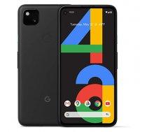 "google Pixel 4a Just Black, 5.81 "", OLED, 1080 x 2340 pixels, Qualcomm Snapdragon 730G, Internal RAM 6 GB, 128 GB, Single SIM, Nano-SIM card & eSIM, 4G, Main camera 12.2 MP, Secondary camera 8 MP, Android, 10, 3140 mAh"