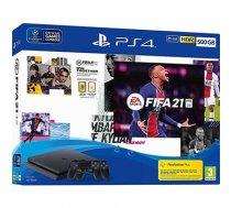 PLAYSTATION 4 CONSOLE 500GB/SLIM/FIFA21/2ND DUALSHOCK SONY   CUH-2216A/2NDDS4/FIFA21