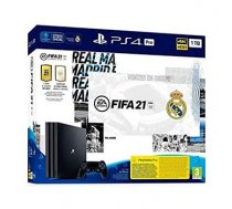 PLAYSTATION 4 CONSOLE 1TB PRO/FIFA 21 / R.MADRID ED. SONY | CUH-7216B/FIFA21/RMADRIDE