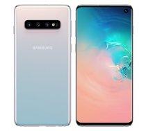 "Samsung Galaxy S10 Prism White, 6.1 "", Dynamic AMOLED, 1440 x 3040, Exynos 9820, Internal RAM 8 GB, 128 GB, microSDXC, Dual SIM, Nano-SIM, 3G, 4G, Main camera Triple 12+12+16 MP, Secondary camera 10 MP, Android, 9.0, 3400 mAh"