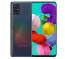 Samsung Galaxy A51 viedtālrunis 6/128 GB melns