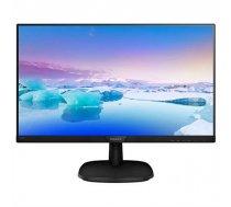 """Philips 223V7QHAB/00 21.5 """", FHD, 1920 x 1080 pixels, 16:9, LCD, IPS, 5 ms, 250 cd/m², Black 223V7QHAB/00"""