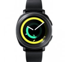 Samsung SM-R600 Galaxy Gear Sport Watch Black SM-R600NZKASEB