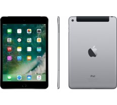 Apple iPad Mini 4 128GB WiFi + 4G, astro-pelēkā krāsā (space grey) MK762HC/A