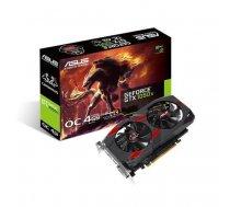 Graphics Card | ASUS | NVIDIA GeForce GTX 1050 TI | 4 GB | 128 bit | PCIE 3.0 16x | GDDR5 | Memory 7008 MHz | GPU 1341 MHz | Dual Slot Fansink | 1xDVI | 1xHDMI | 1xDisplayPort | CERBERUS-GTX1050TI-O4G CERBERUS-GTX1050TI-O4G