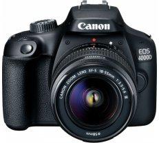 Canon EOS 4000D + 18-55mm III Kit, black 3011C003