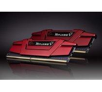 G.Skill RipjawsV DDR4 32GB (2x16GB) 3000MHz CL16 1.35V XMP 2.0 Red F4-3000C15D-32GVR