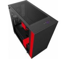 NZXT computer case H400 Matte Black/Red CA-H400B-BR