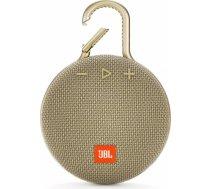 JBL Clip 3 Sand Portatīvais skaļrunis JBLCLIP3SAND