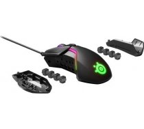 SteelSeries Rival 600 Gaming Mouse SteelSeries Gaming mouse, RGB LED light, Dual system: 1st - TrueMove 3 Optical Sensor 100-12000CPI; 2nd - Optical Depth Sensor; 62446