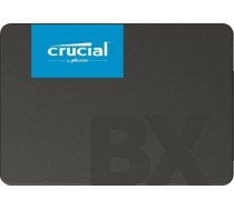 "SSD | CRUCIAL | BX500 | 480GB | SATA 3.0 | Write speed 500 MBytes/sec | Read speed 540 MBytes/sec | 2,5"" | MTBF 1500000 hours | CT480BX500SSD1 CT480BX500SSD1"