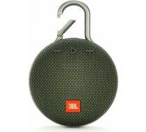 JBL Clip 3 Green Portatīvais skaļrunis JBLCLIP3GRN