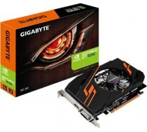 Gigabyte NVIDIA, 2 GB, GeForce GT 1030, GDDR5, PCI Express 3.0, Cooling type Active, Processor frequency 1265 MHz, DVI-D ports quantity 1, HDMI ports quantity 1, Memory clock speed 6008 MHz GV-N1030OC-2GI