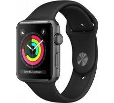 Apple Watch Series 3 GPS 38mm Space Gray, Black Sport Band MTF02ZP/A