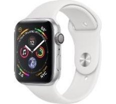 Apple Watch Series 4 GPS, 40mm Silver Aluminum Case with White Sport Band MU642ZP/A