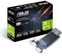 Asus NVIDIA, 2 GB, GeForce GT 710, GDDR5, PCI Express 2.0, Cooling type Passive, HDMI ports quantity 1, Memory clock speed 5012 MHz, DVI-D ports quantity 1, VGA (D-Sub) ports quantity 1, Processor frequency 954 MHz 90YV0AL3-M0NA00