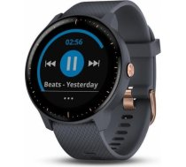 Garmin Vivoactive 3 Music (Granite Blue with Rose Gold Hardware) 010-01985-33