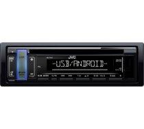 JVC KD-T401 Automagnetola CD / USB / SD / MMC / RCU / AUX / RADIO / 4 X 50W Black KD-T401