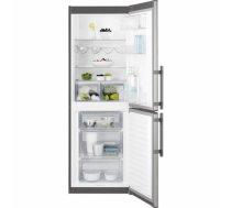 ELECTROLUX EN3201MOX ledusskapis ar saldētavu apakšā, 175cm, nerūs.tēr. EN3201MOX